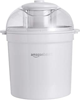 Amazon Basics Turbine à glace automatique, capacité 1,41 L