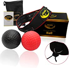 Boxing Reflex Ball For Kids and Adults - Comfortable Headband - Easy Length Adjust - Best For Training Reaction,Punch Speed,Hand-eye Coordination