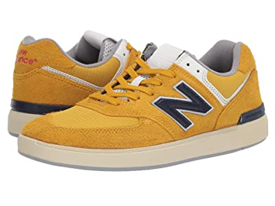 New Balance Numeric AM574 (Golden/Navy) Men