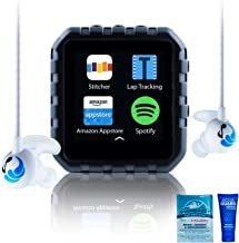 Delphin Waterproof Micro Tablet Compatible with Audible and More, Plus Built in Lap Tracking! (8GB, Swimbuds Sport) photo