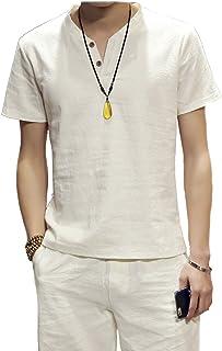 (メイク トゥ ビー) Make 2 Be リネン 系 半袖 麻 Tシャツ 自然素材 MF23