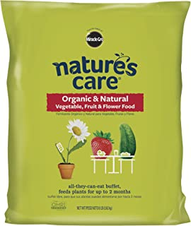 Miracle-Gro Nature's Care Organic and Natural Vegetable, Fruit and Flower Food ( 8 lbs )
