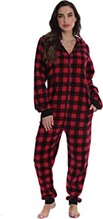 Matching Adult Onesie for Family, Couples, Dog and Owner Buffalo Plaid