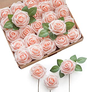 Best rose gold fake flowers Reviews