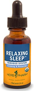 Herb Pharm Relaxing Sleep Herbal Formula with Valerian Liquid Extract - 1 Ounce