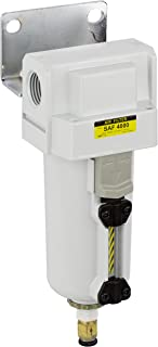 PneumaticPlus SAF4000M-N04BD-MEP Compressed Air Particulate Filter, 1/2