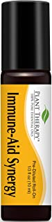 Plant Therapy Immune Aid Synergy Essential Oil 100% Pure, Undiluted, Therapeutic Grade (10 mL Roll-On)