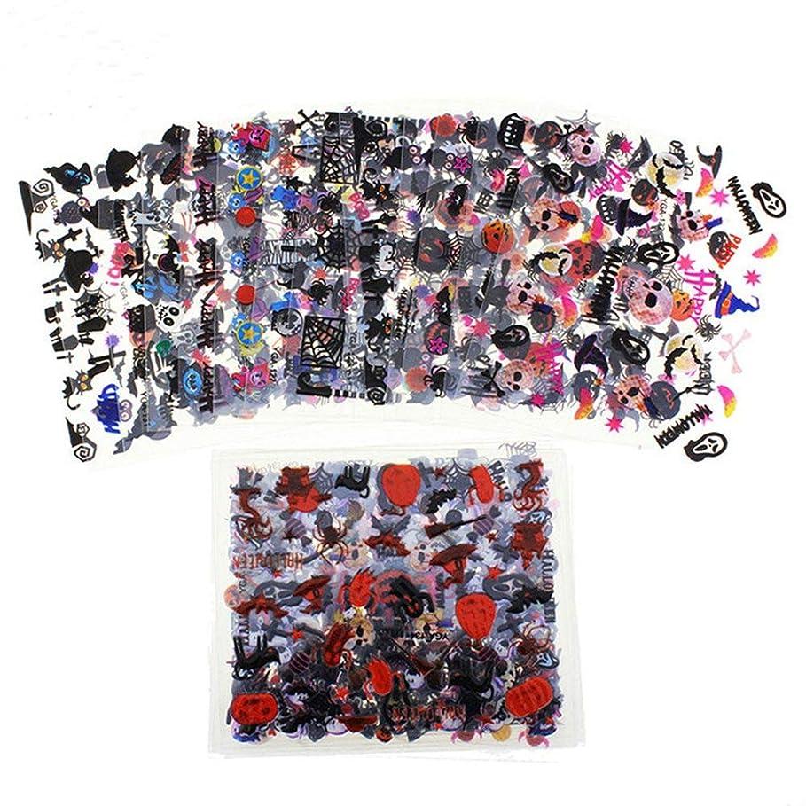 代わりに宇宙船タッチEVA-JP ネイルシール ハロウィーン ネイルステッカー ネイル用装飾 24枚セット 可愛いネイル飾り 貼るだけマニキュア ネイル用装飾 女性 女の子 子供用