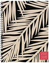 TF Publishing 19-9720A July 2018 - June 2019 Botanical Large Weekly Monthly Planner, 9 x 11