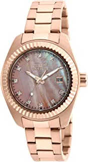 Women's 20353 Specialty Analog Display Quartz Rose Gold Watch