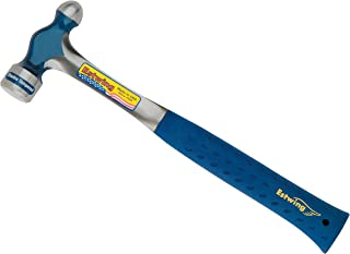 Estwing E3-24BP Ball Pein Hammer, Cushion Grip Steel Handle, 13 1/2