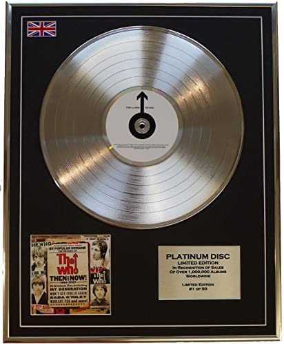 Everythingcollectible The Who Edition Limitee Cadre CD Disque DE Platine Then and Now