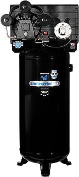 Industrial Air ILA4546065 60-Gallon Hi-Flo Single Stage Cast Iron Three Cylinder Air Compressor: image