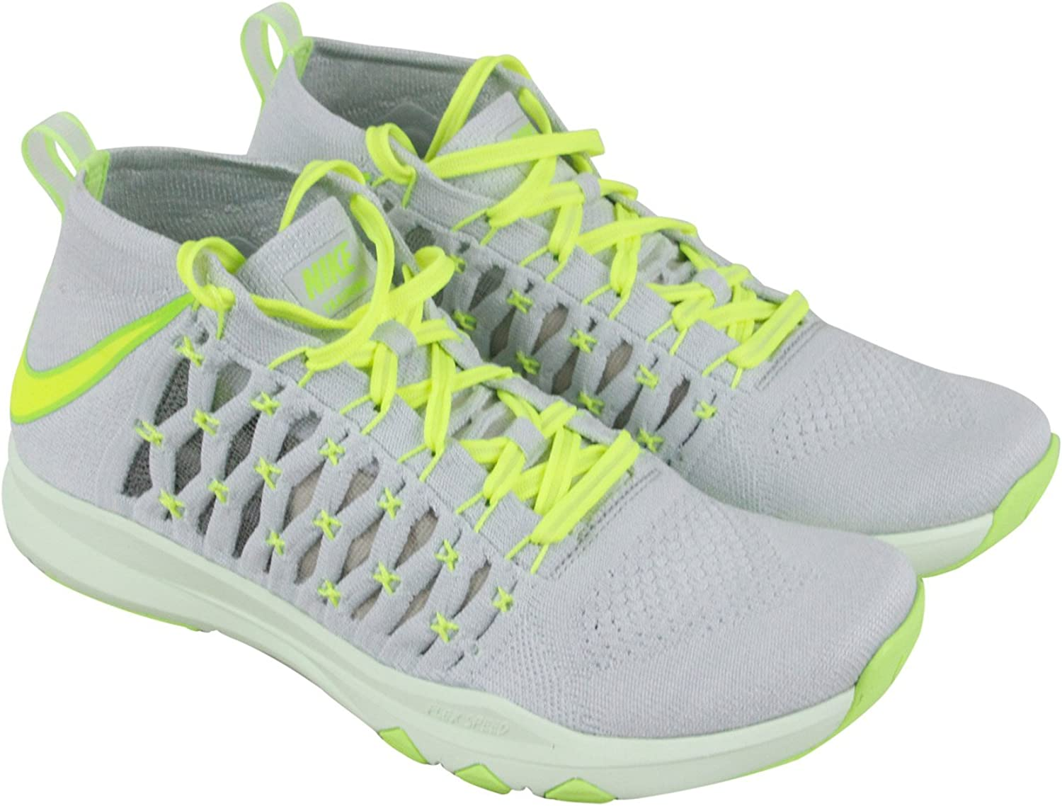 Nike Men's Train Ultrafast Flyknit Ankle-High Fabric Running shoes