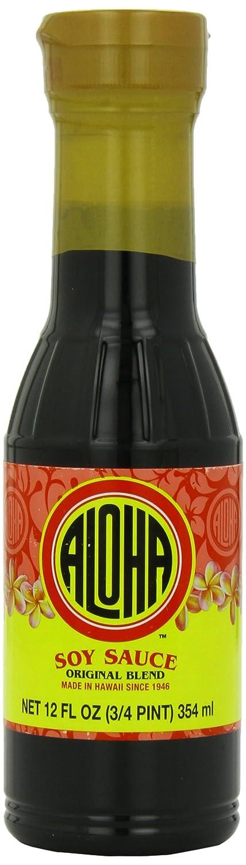 Aloha Soy Sauce 12 Selling Original Ounce Bargain