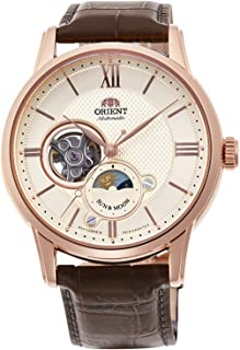 Orient Classic semi Skeleton Sun & Moon Mechanical Watches RN-AS0002S1J Men's