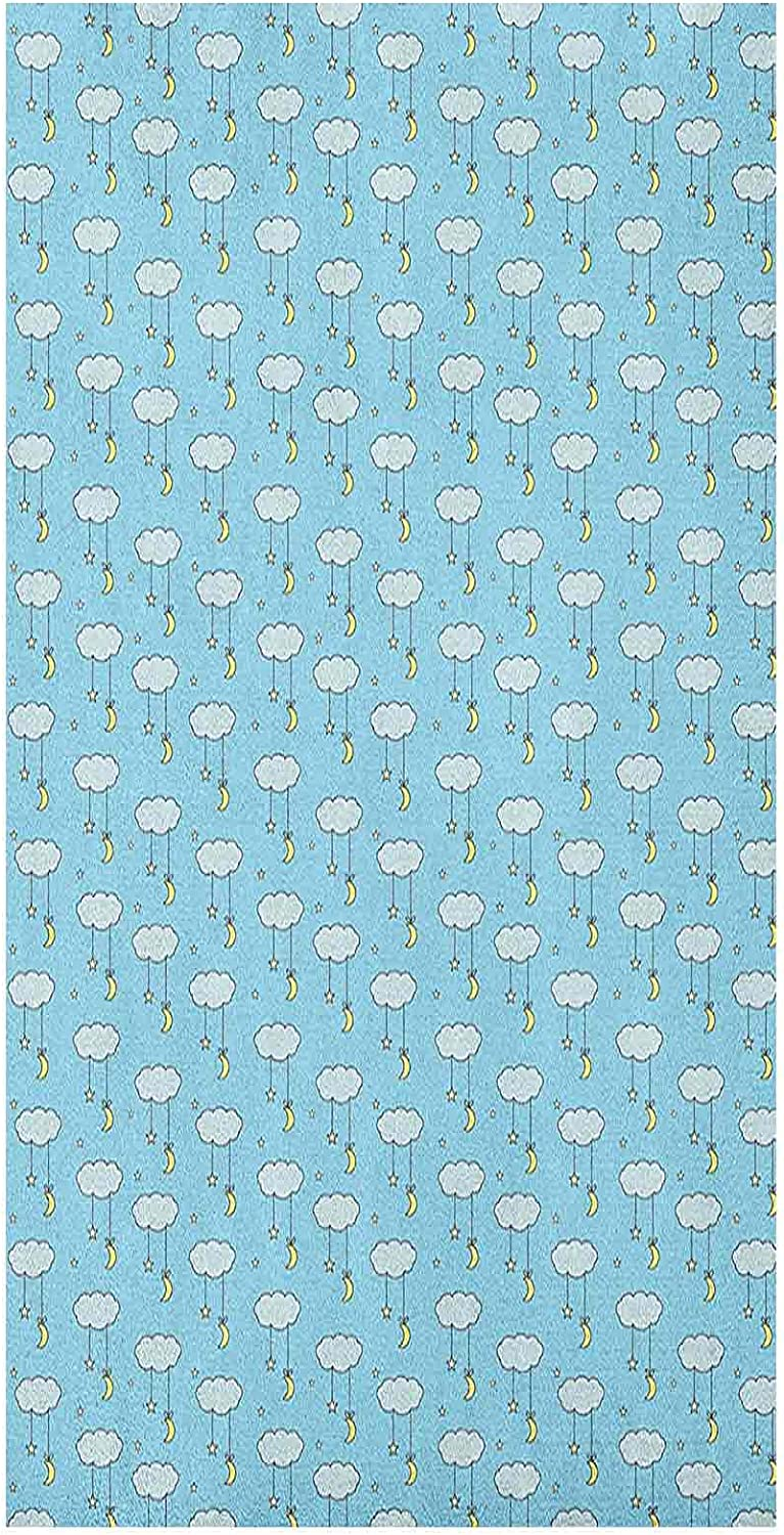 Static Moon Max 44% OFF Window Film Cartoon Style Long-awaited and Hanging f Stars Moons
