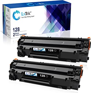 LxTek Compatible Toner Cartridge Replacement for Canon 128 CRG128 (Black, 2-Pack)