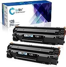 LxTek Compatible Toner Cartridge Replacement for Canon 128 CRG128 (Black, 2-Pack)