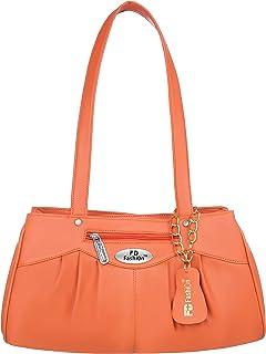 Orange Shoulder bag for women daily use handbags for girls college bag for girls casual handbags for women-1522