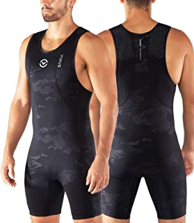 Virus AU27 Mens Ascend Weightlifting Singlet - Black Camo - Olympic Lifting