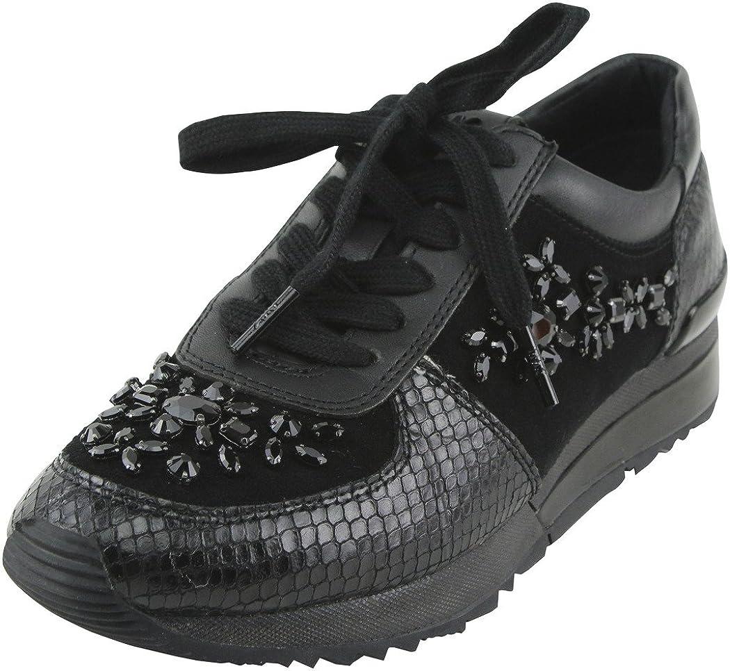 原子リンス不承認Michael Kors Womens Allie Embellished Fashion Sneaker