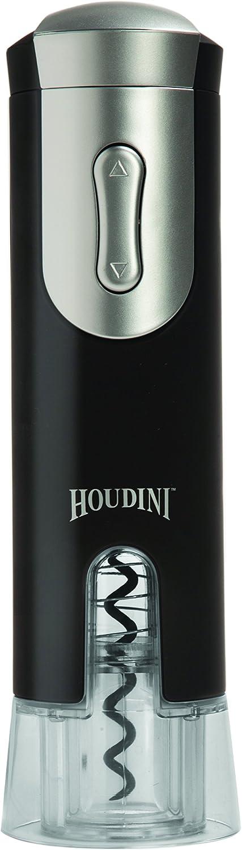 Metrokane Houdini Electric Corkscrew, Velvet Black
