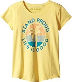 Stand Tall Palm Smiling Smooth™ Tee (Little Kids/Big Kids)