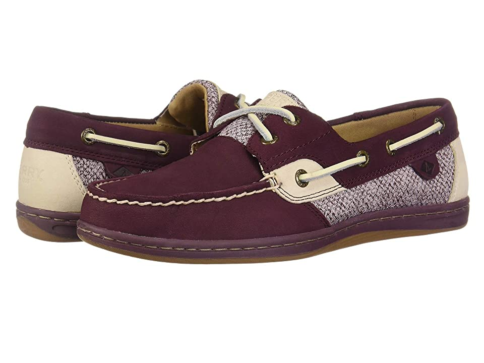 Sperry Koifish Herringbone Tweed (Wine) Women
