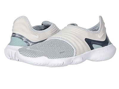 Nike Free RN Flyknit 3.0 (Pure Platinum/Metallic Cool Grey/Wolf Grey) Women