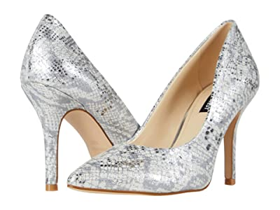 Nine West Flax Pump (Silver 1) High Heels