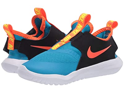 Nike Kids Flex Runner (Infant/Toddler) (Laser Blue/Hyper Crimson/Black) Kids Shoes