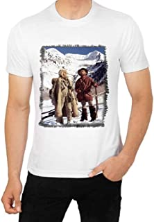 Jeremiah Johnson T Shirt Robert Redford with Will Gear Mountain Man Movie