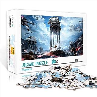 YITUOMO 1000 pièces Puzzles pour Adultes Star Wars: Puzzle Classique Frontline Enfants Peintures Intellectuelles Jeu de Pu...