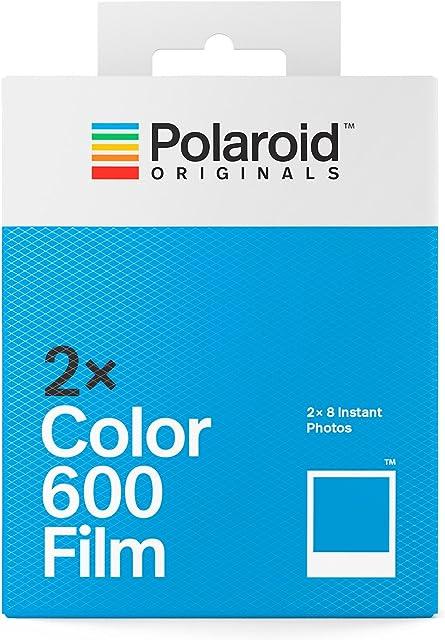 Polaroid Originals 4841 - Paquete Doble película Color para 600 y i-Type cámara Color Blanco