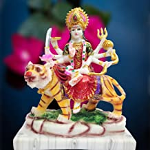 KD HUB Goddess Durga Devi Statue Sherawali MATA Rani/Maa Kali Religious Pooja Murti Gift Item Spiritual Puja Vastu showpie...