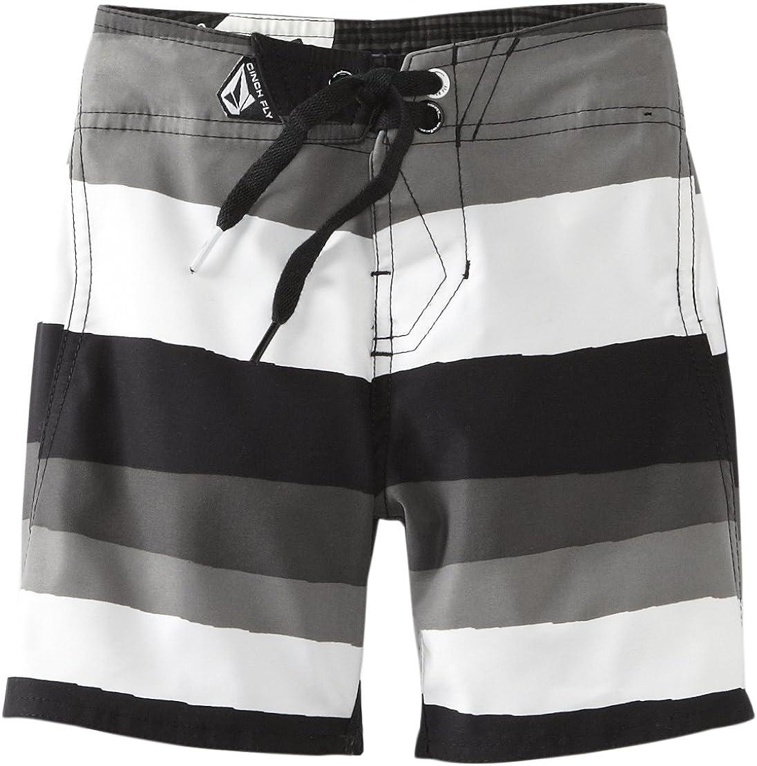 Volcom Little Boys' Maguro Stripe Little Youth Boardshort