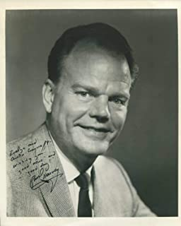 Paul Harvey ABC News Radio Broadcaster Rest of the Story Signed Autograph Photo