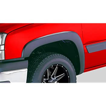 Rear Factory Style Fender Flares for 1999-2007 Chevy Silverado GMC Sierra Spec-D Tuning 4PC Front