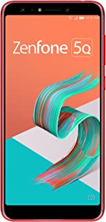 ASUS ZenFone 5Q 【日本正規代理店品】 6.0インチ / SIMフリースマートフォン / ルージュレッド (4GB/64GB/3,300mAh) ZC600KL-RD64S4/A