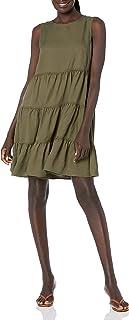 Tommy Hilfiger womens Tencel Tiered Dress Dress