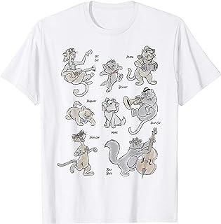 Disney The Aristocats All The Cats Maglietta