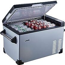 Cathville Portable Refrigerator Fridge Freezer for car, Boat, RV, Camping, Roadtrip, Outdoor Recreation (32-Quart)