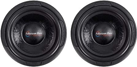 (2) American Bass TNT-1244 1200 Watt 12