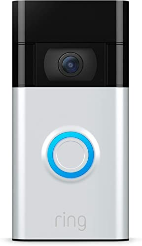 Ring Video Doorbell – newest generation, 2020 release – 1080p HD video, improved motion detection, easy installation ...