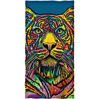 Dean Russo Tiger Cotton Beach Towel DH-375