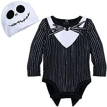 Disney Jack Skellington Costume Bodysuit for Baby - Size 12-18 MOS