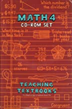 Math 4 CD-ROM Set (Teaching Textbooks) (4 CD's)