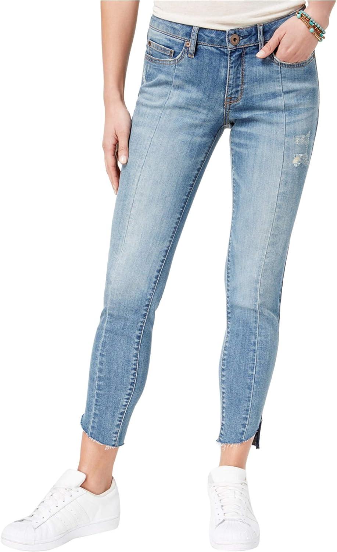 American Rag Womens Pieced StepHem Skinny Fit Jeans