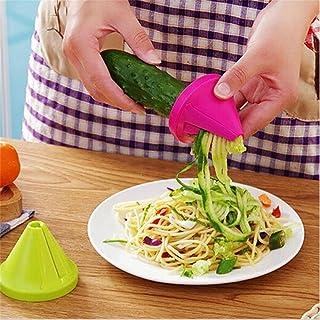 Cortador de verduras en espiral, mini embudo en espiral ZZM